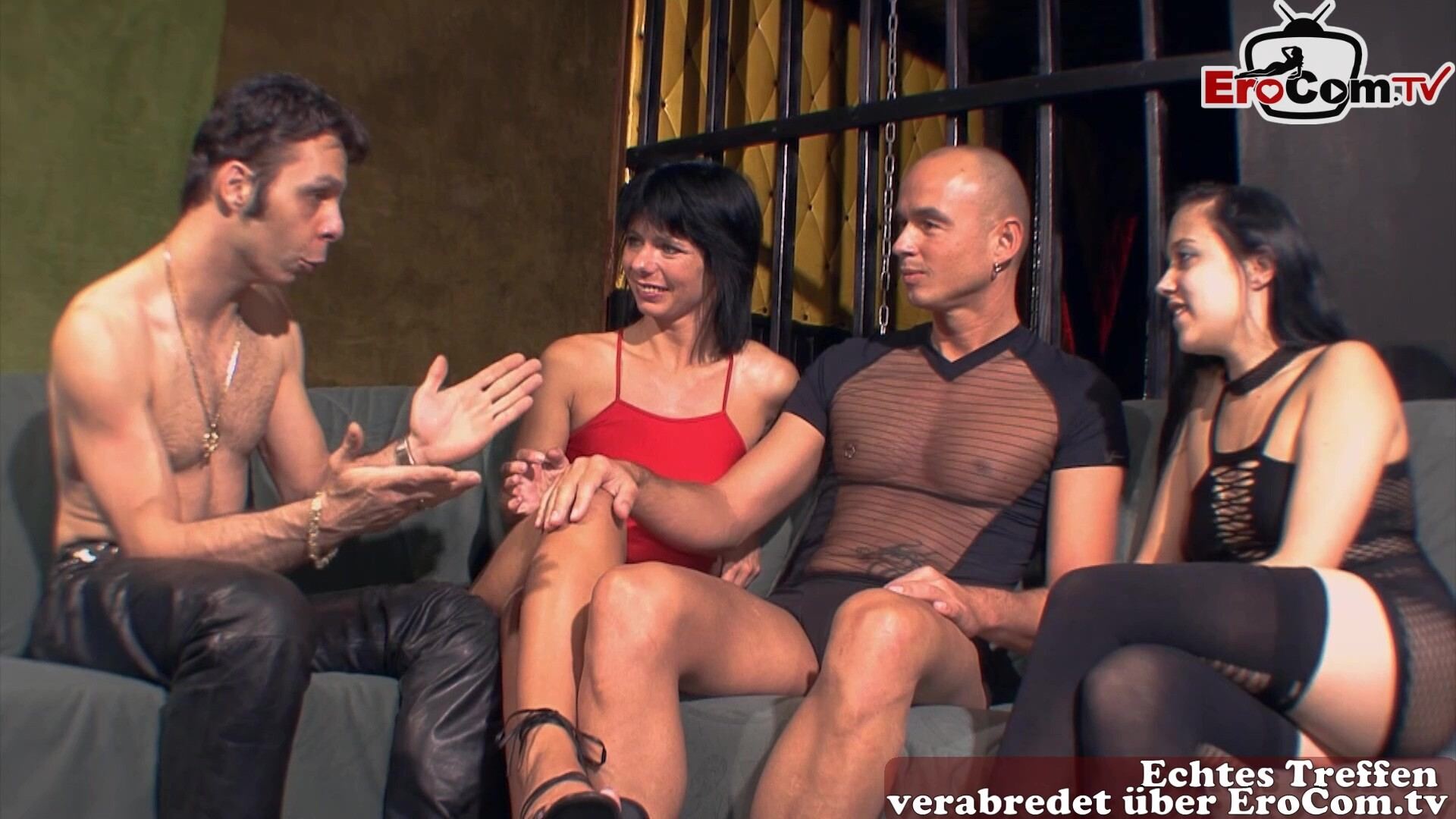 german amateur swinger party with housewife couples