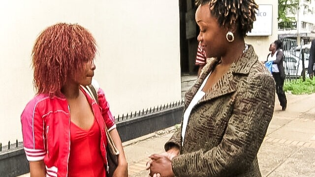 Ebony Lesbian College Girls Meet up and Pussy Playing