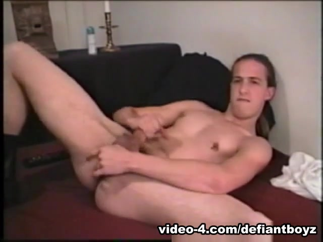 Young James Jacks Off and Cums On Face - DefiantBoyz