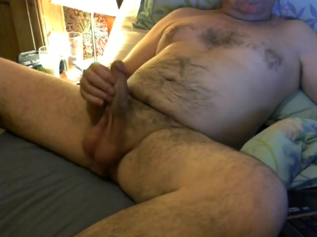Bed time wank