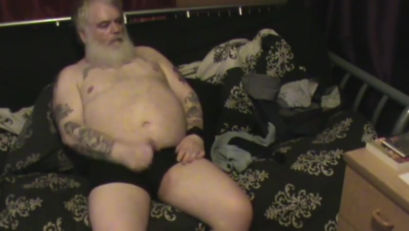 Papa bear wank