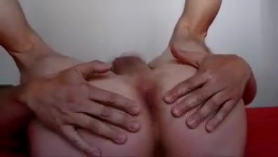 Small cock wanked tight anus penetrated ecstatically.