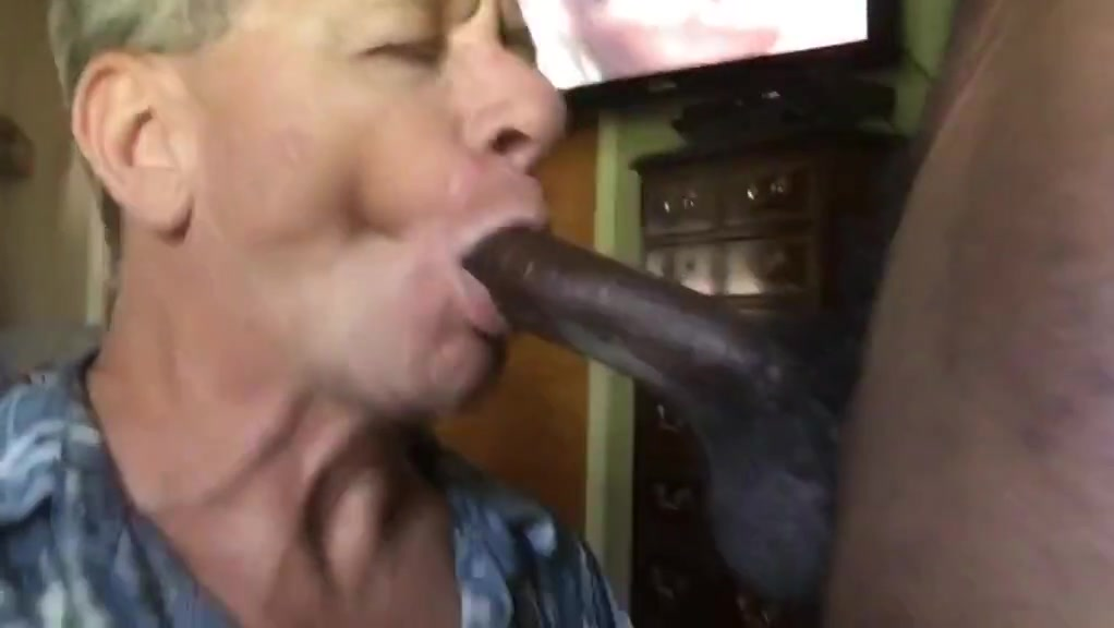 Neal blosmen sucks off a 10 inch black cock!
