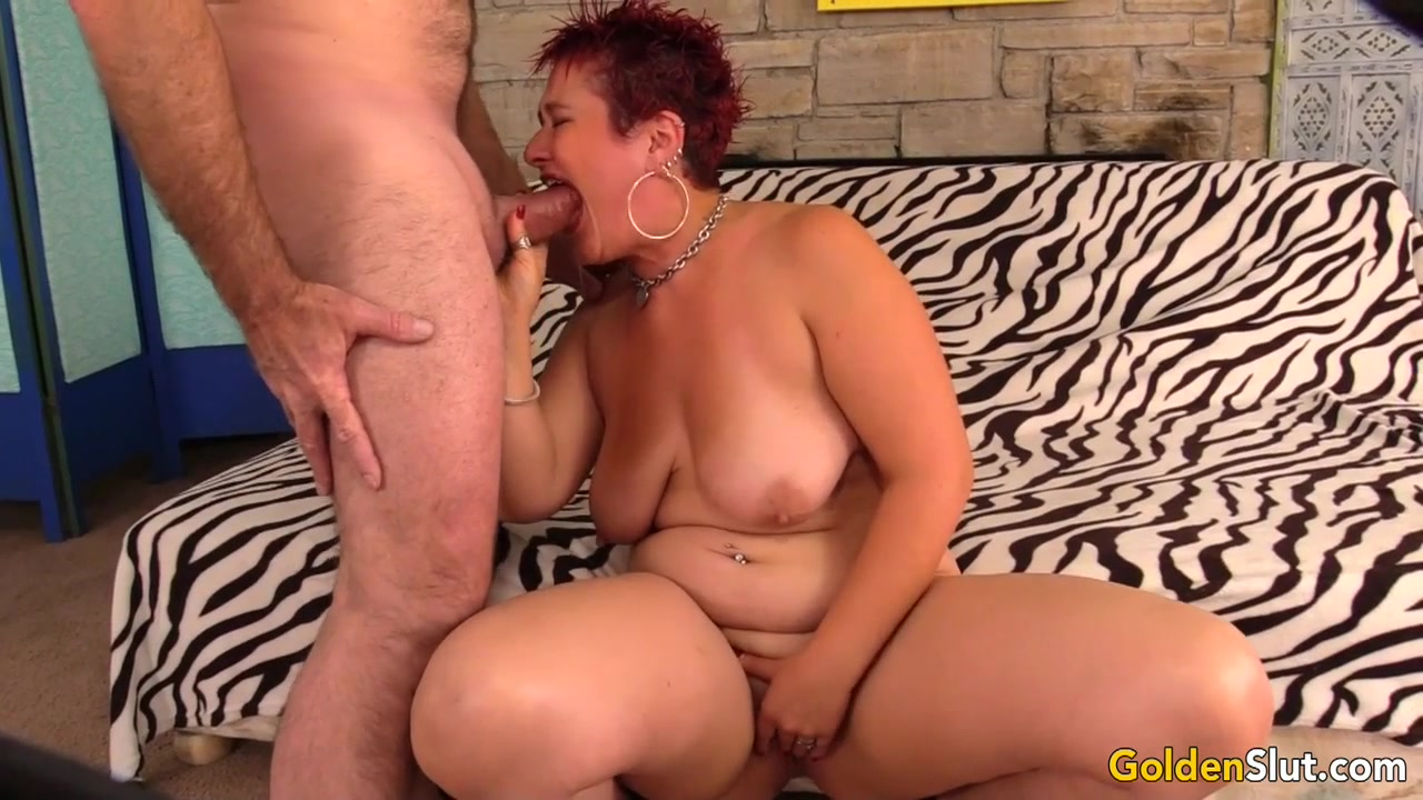 Mature Redhead Scarlett O'Ryan Plays with Herself Before Sucking and Fucking