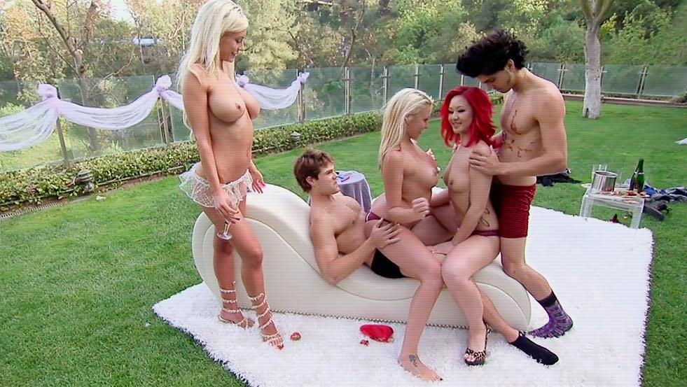 Tv foursome playboy PlayboyTV