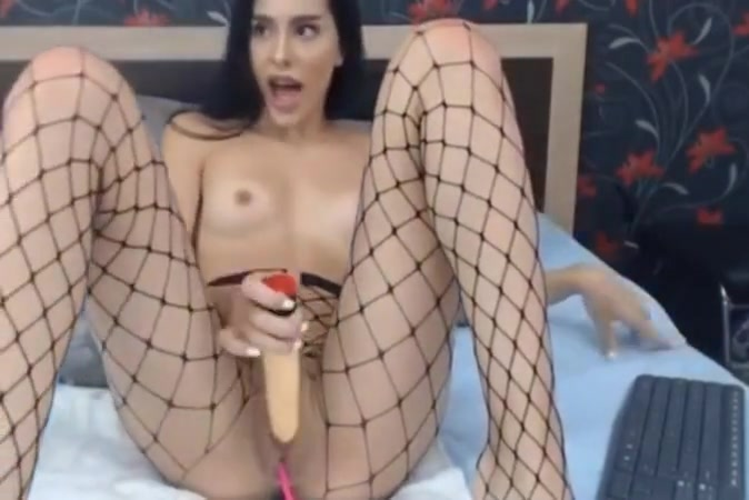 Sexy Pretty college girl in Dildo Play Time
